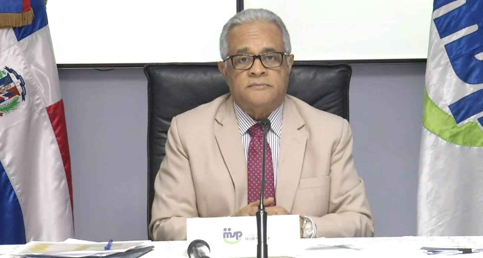 Ministro de Salud Pública, Rafael Sánchez Cárdenas (elpais.do)