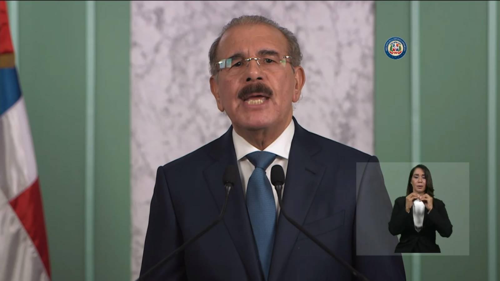 Discurso del presidente Danilo Medina.