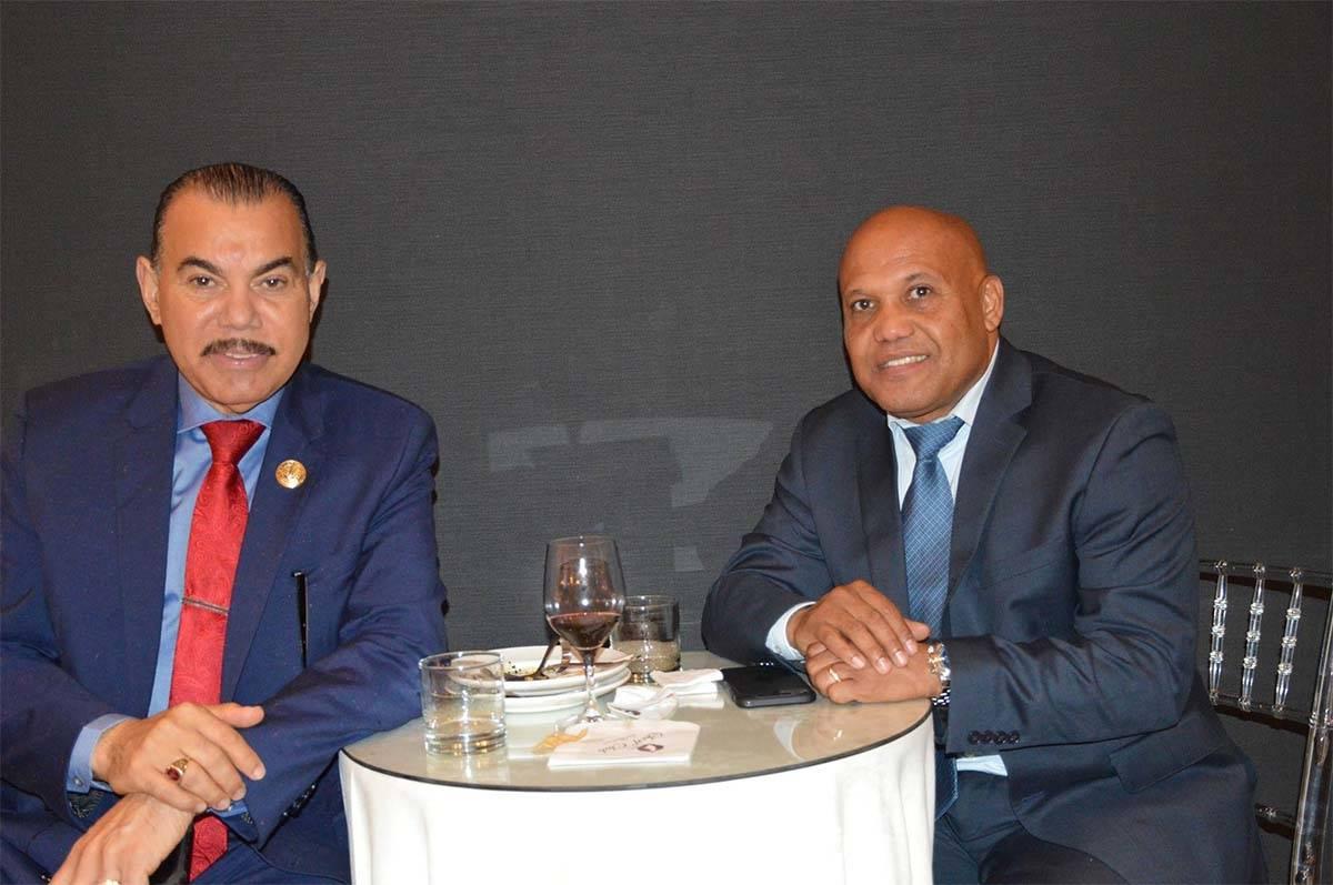 Germán Batista y Rafael Duvergé
