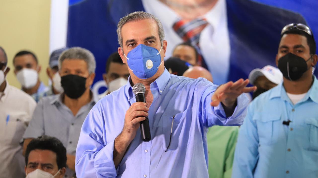 Luis Abinader positivo al coronavirus