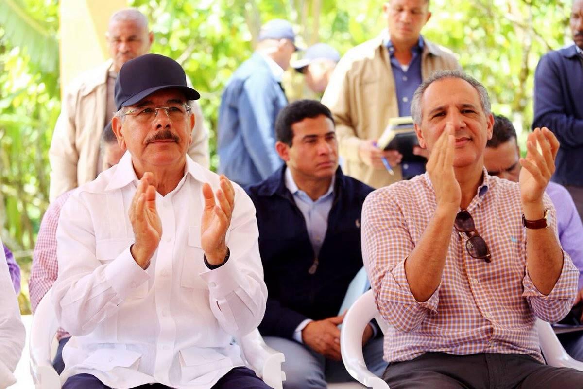 Danilo Medina Y José Ramón Peralta